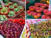 5月のフルーツ@台湾~5月の台湾、こんな果物お店に並んでます